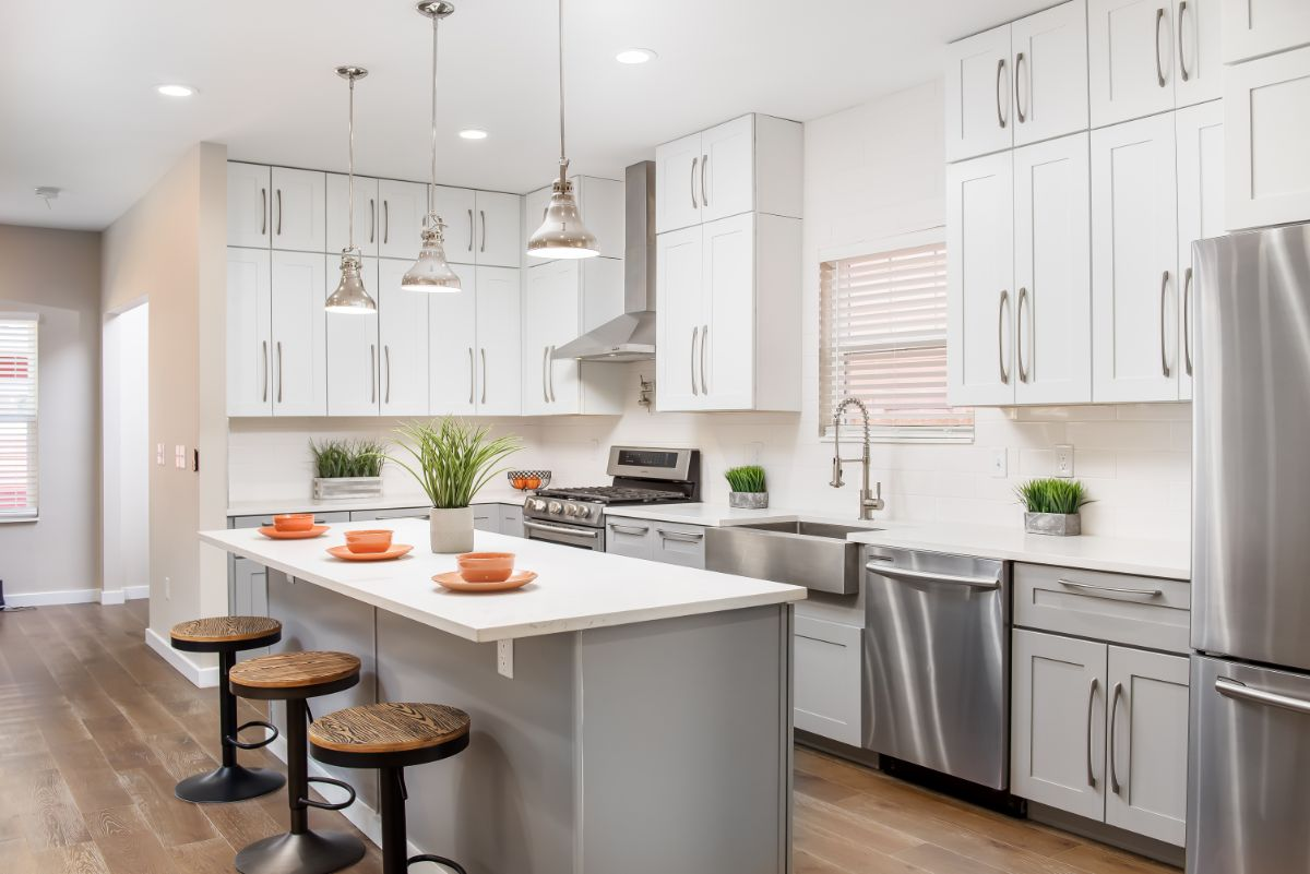 Custom Home Build Kitchen